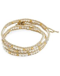 Chan Luu - Multilayered Station Bracelet - Lyst