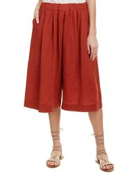 4our Dreamers - Linen Crop Pant - Lyst