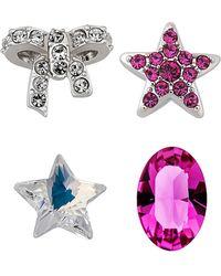 Swarovski - Crystal Plated Set Of 4 Assorted Treasure - Lyst