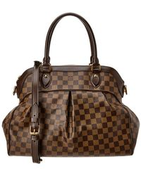 Louis Vuitton - Damier Ebene Canvas Trevi Gm - Lyst