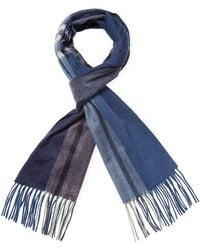 Saks Fifth Avenue - Ombre Plaid Scarf - Lyst