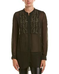 French Connection - Donna Sheer Blouse - Lyst