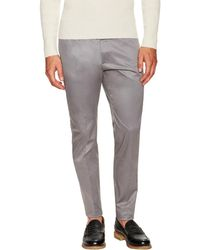 DSquared² - Solid Twill Flat Front Chino - Lyst