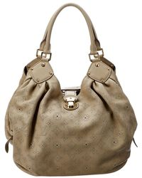 Louis Vuitton - Opal Leather Large Mahina - Lyst