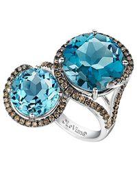 Le Vian - ® Chocolatier® 14k 9.04 Ct. Tw. Diamond & Gemstone Ring - Lyst