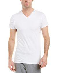 Original Penguin - 3pk Slim Fit V-neck T-shirts - Lyst
