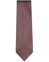 Ermenegildo Zegna - Honeycomb Embroidered Tie - Lyst