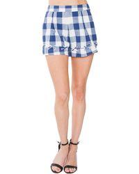 Sugarlips - Checkered Short - Lyst
