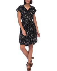 Bobeau - Mare Dolman Sleeve Dress - Lyst