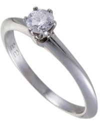 Heritage Tiffany & Co. - Tiffany & Co. Platinum 0.22 Ct. Tw. Diamond Ring - Lyst