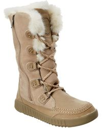 Pajar - Plush Waterproof Suede Boot - Lyst