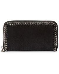 cfa379e307e6eb Stella McCartney - Chain-detail Continental Wallet - Lyst