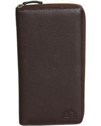 Dopp - Buxton Soho Rfid Leather Passport Wallet - Lyst