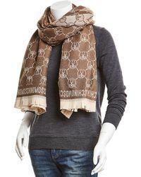 Moschino - Wool Wrap - Lyst