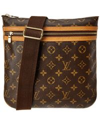 Louis Vuitton - Monogram Canvas Pochette Bosphore - Lyst