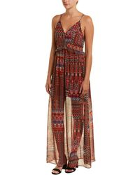 BCBGeneration - Printed Maxi Dress - Lyst