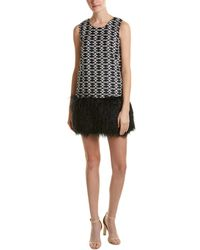 Romeo and Juliet Couture - Fuzzy Trim Sweaterdress - Lyst