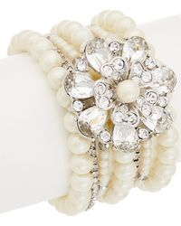 Carolee - Grand Entrance Stretch Bracelet - Lyst