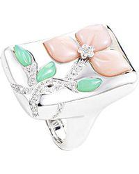 Heritage - Oro Trend 18k 0.40 Ct. Tw. Diamond & Gemstone Ring - Lyst