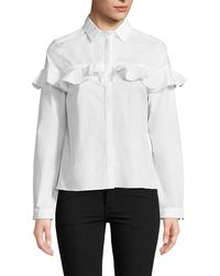 WHIT - Maxine Button Front Shirt - Lyst