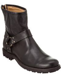 Frye - Men's Phillip Lug Harness Leather Boot - Lyst