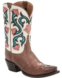 Lucchese - Belle Calf Western Boot - Lyst