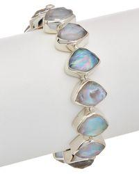 Stephen Dweck - Twilight Silver Gemstone, Mother-of-pearl, & Pearl Bracelet - Lyst