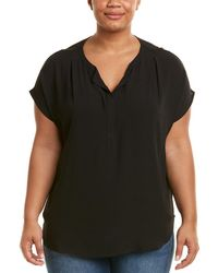 Lush - Plus Chiffon Top - Lyst