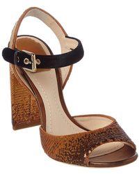 Dior - Sequin Embellished Heeled Sandal - Lyst