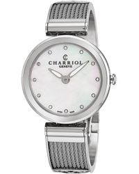 Charriol - Forever Watch - Lyst