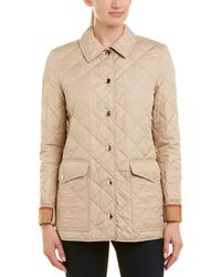 Burberry - Westbridge Diamond Quilted Jacket - Lyst