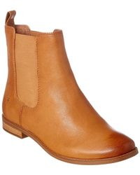 Frye - Anna Leather Chelsea Boot - Lyst