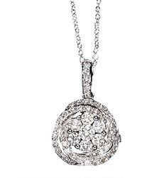Effy - Fine Jewelry Bouquet 14kt Diamond Pendant - Lyst