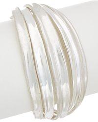 Robert Lee Morris - Color Wheel Plated Flex Bracelet - Lyst