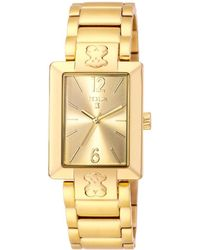 Tous - Women's Plate Sq Watch - Lyst