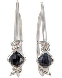 Stephen Webster - 14k & Silver 0.19 Ct. Tw. Diamond & Quartz Drop Earrings - Lyst