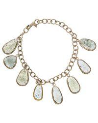 Gurhan - Elements 24k & Silver 55.50 Ct. Tw. Aqua Moss Bracelet - Lyst