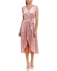 Avec Les Filles - Wrap Dress - Lyst