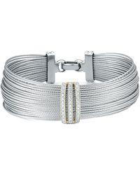 Alor - Classique 18k 0.35 Ct. Tw. Diamond Bracelet - Lyst