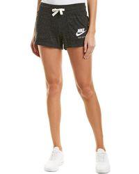 Nike - Sportswear Gym Vintage Short (black/sail) Women's Shorts - Lyst