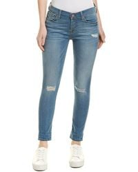 7 For All Mankind - 7 For All Mankind Josefina Blue Skinny Boyfriend Jean - Lyst