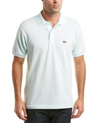 Lacoste - Classic Fit Pique Polo - Lyst