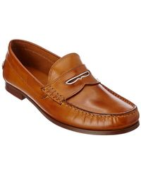 Donald J Pliner - Donald J Pliner Natale Leather Loafer - Lyst