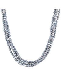 Splendid - 5-6mm Freshwater Pearl Endless Necklace - Lyst