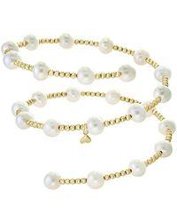 Effy Fine Jewellery 14k 7mm Pearl Bracelet - Multicolour