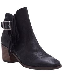 Lucky Brand - Makenna Leather Boot - Lyst