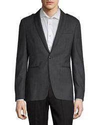 John Varvatos - Classic Shawl Collar Epaulette Jacket - Lyst