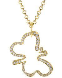 Robert Lee Morris - 18k 1.10 Ct. Tw. Diamond Necklace - Lyst