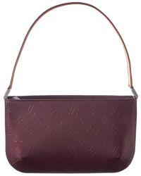 Louis Vuitton - Purple Monogram Mat Vernis Leather Fowler - Lyst