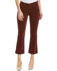 AG Jeans - The Jodi Deep Currant Flare Crop - Lyst
